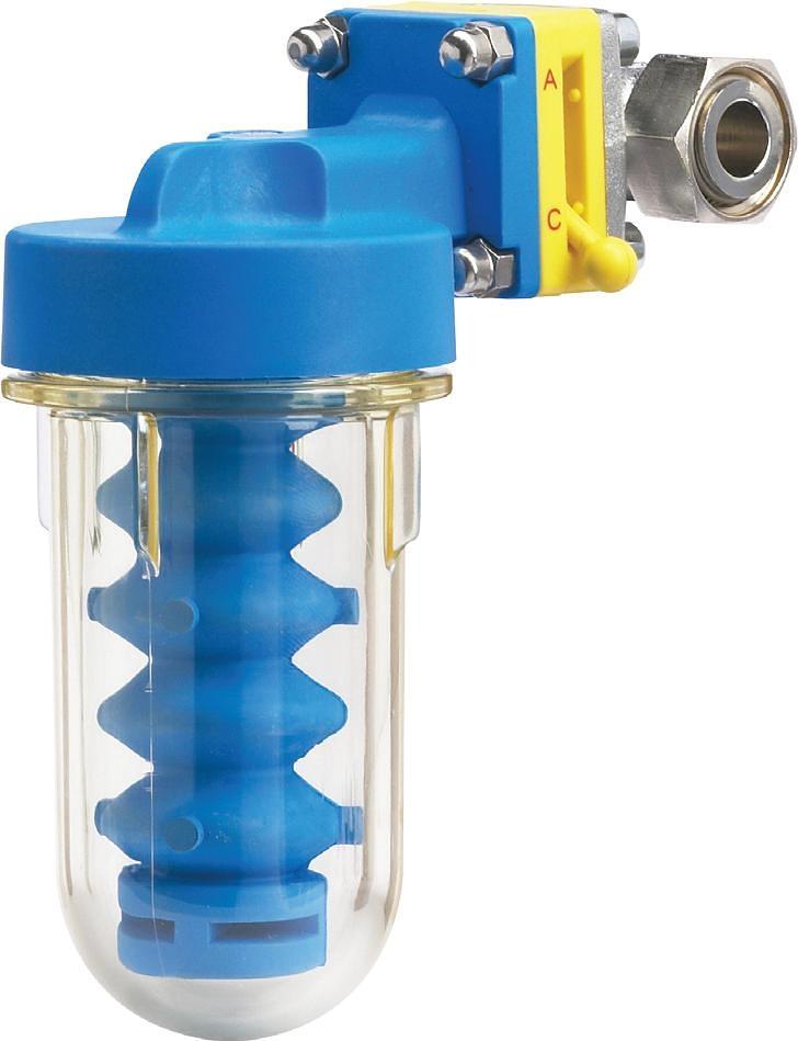 filtr Atlas DOSAPLUS 3 Účinná ochrana proti usazování vodního kamene v ohřívači vody