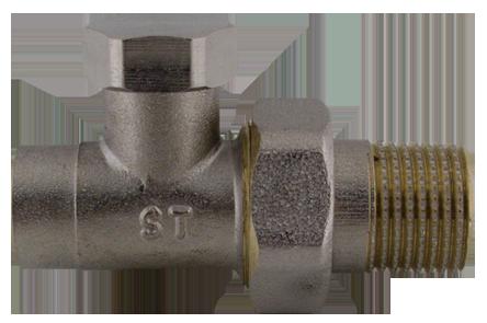 """409D CU15 x 1/2"""" Radiátorový regulační ventil přímý pájecí"""