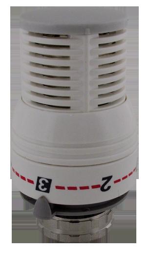 402 Termostatická hlavice kapalinová radiátorová, M30 x 1,5 (0°- 28°C)