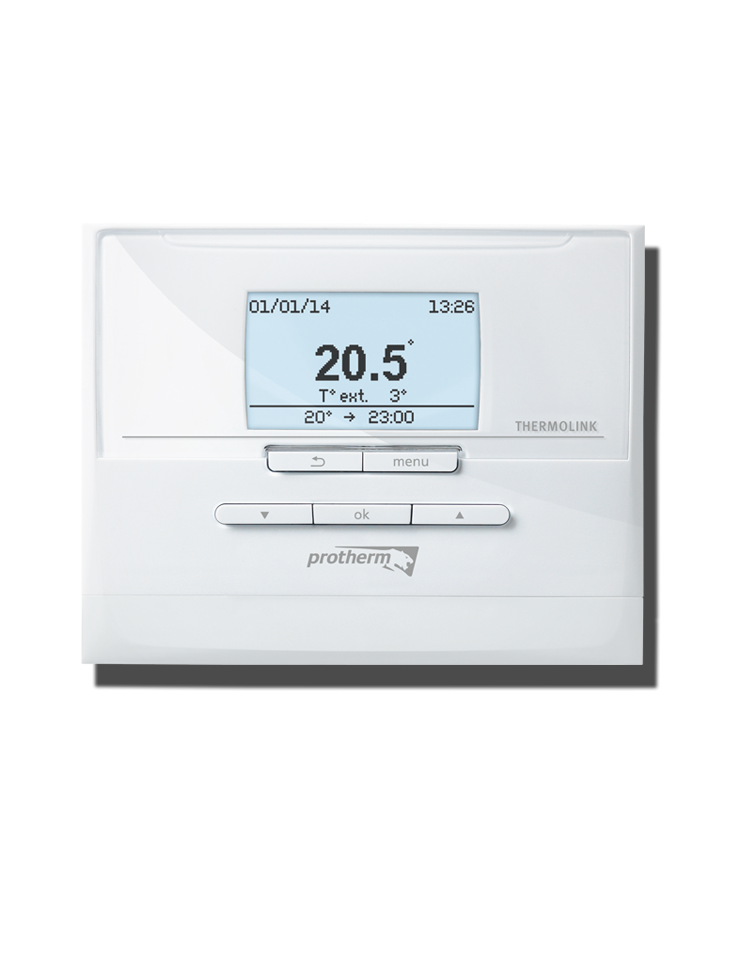 bezdrátový prostorový regulátor Protherm Set Thermolink RC/2 s venkovním čidlem
