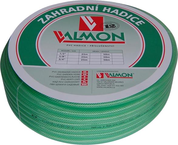 """Garden 64112 PVC zahradní hadice průhledná 1/2"""" 13x18 8 bar 50m"""