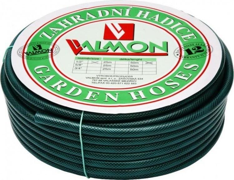 """Valmon 64234 PVC zahradní hadice neprůhledná 3/4"""" 19x25 7 bar 50m"""