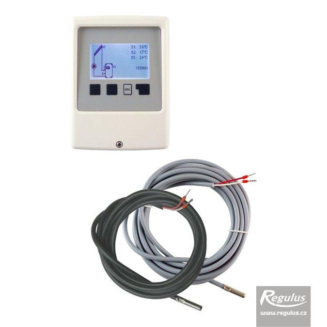 Regulus SRS1 T solární regulátor 17570