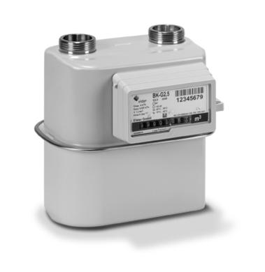 plynoměr Premagas BK G4 rozteč 100 mm