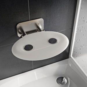 Ravak sedátko do sprchy OVO P II Opal B8F0000049