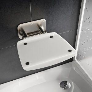 RAVAK OVO B II Opal sedátko do sprchy B8F0000052