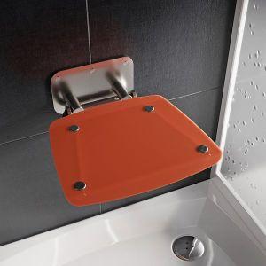 RAVAK OVO B II Orange sedátko do sprchy B8F0000053