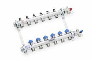 Rehau HKV-D 10 AG NEREZ rozdělovač podlahového topení 13802001101