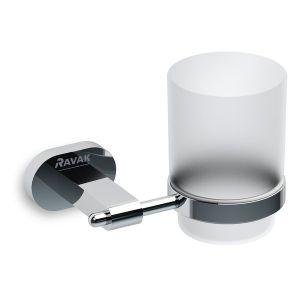 Ravak Chrome CR 210 držák s pohárkem na kartáčky X07P188