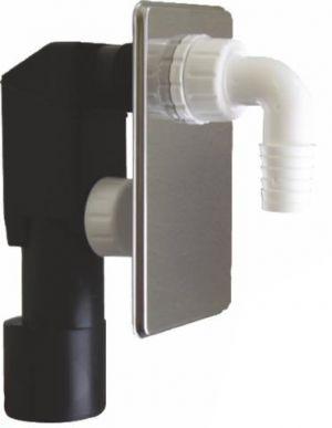 44441 sifon pračkový podomítkový plast bílé koleno