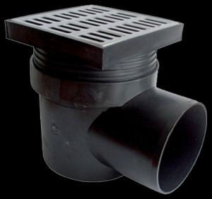 podlahová vpusť boční nerez DN 110 44480