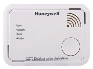 Honeywell detektor oxidu uhelnatého CO alarm XC70-CSSK-A