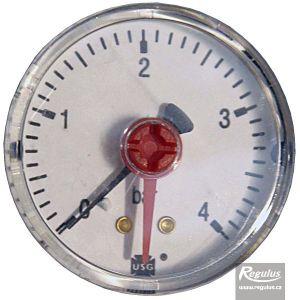 "Regulus Tlakoměr 4 bar, G 1/4"" zadní, d= 50 mm 2128"