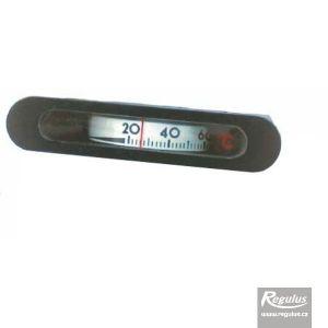 Regulus Teploměr 0-120°C, kapilára 1 m, 14,5x64,5 mm, černý 275