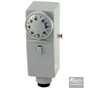 Regulus termostat provozní zakrytovaný příložný 10-90°C, teplovodivá pasta 10811