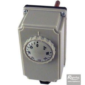Regulus termostat provozní zakrytovaný s jímkou 0-90°C, čidlo 5,8x100 13620