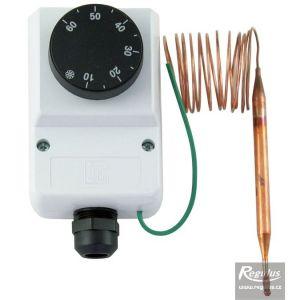 Regulus termostat provozní zakrytovaný 0-60°C kapilára 1,5 m IP40 10750