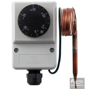 Regulus termostat provozní zakrytovaný -35/35°C kapilára 1,5 m IP40 11279