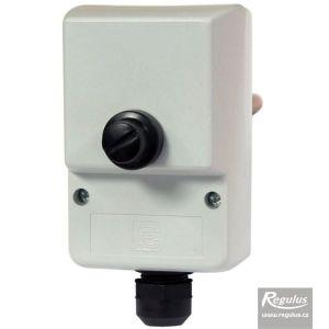 Regulus termostat havarijní zakrytovaný s jímkou 100°C 2 kontakty 10803