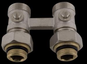 """412D Uzavírací ventil přímý VK s erukonusem včetně redukce 1/2"""" x 3/4"""""""