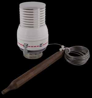 401 Termostatická hlavice s čidlem 200 cm, kapalinová radiátorová, M30 x 1,5 (0°- 28°C)