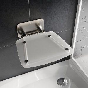 RAVAK OVO B II Clear sedátko do sprchy B8F0000051